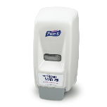 PURELL 800 Hand Sanitizer Series Dispenser (White/Gray).