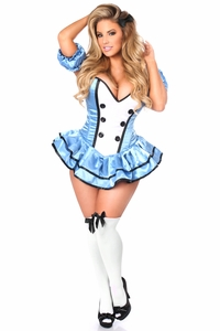 Top Drawer Premium Alice Corset Dress Costume