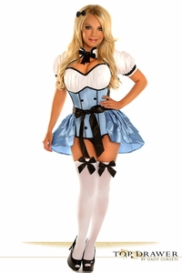 Top Drawer 4 PC Alice Costume