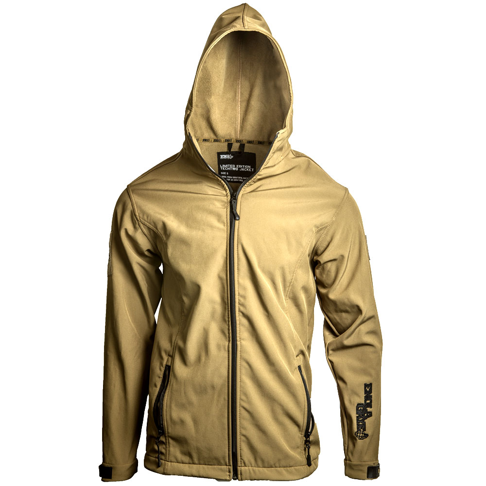 TECHTWO JACKET: TAN