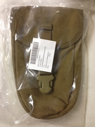 USMC MILITARY Issue COYOTE Entrenching Tool Pouch Assembly, Carrier