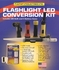 Fulton Angled Flashlight Battery and LED Bulb Conversion Kit