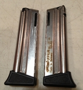 Walther PPK/S 22 *FACTORY* Magazines 10Rd 22LR With Finger Rest New Model PPKS