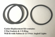 Fulton/GT Price Angle Head Flashlight Gasket Kit for MX-991/U & MX-993/U lights