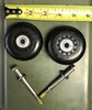 Hardigg / Pelican Factory Replacement Wheel kit 472-MedChest 3,4,5