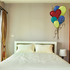Holiday Valentine's Day Balloons Sticker