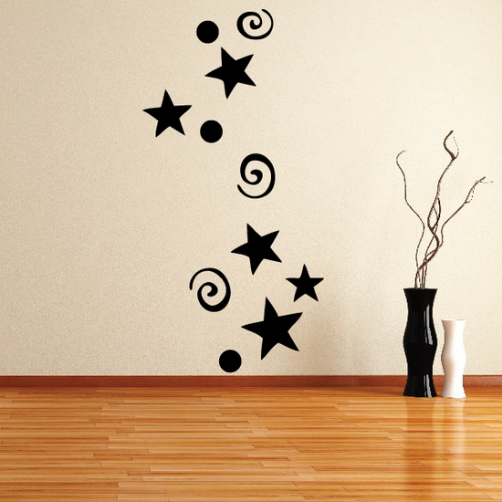 Magic Dust and Stars Decal