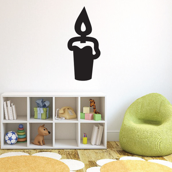 Candle Decal