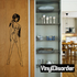 Woman in Native Inspired Lingerie Decal