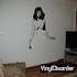 Seductive Topless Woman Decal