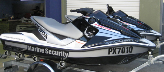 Jet Ski Registration Decals