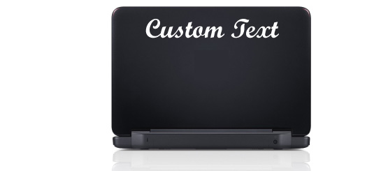 Laptop/PC Text Decals