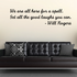 We are all here for a spell Get all the good laughs you can Will Rogers Wall Decal