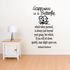 Happiness is a butterfly which when pursued is always just beyond your grasp Nathaniel Hawthorne Wall Decal