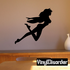 Flying Nude Fairy Decal