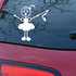 Mom Ribbon Dancing Decal
