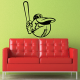 Baseball Mascot Decals
