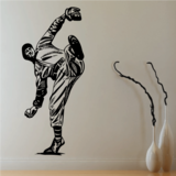 Baseball Pitcher Decals
