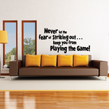 Baseball Quote Decals