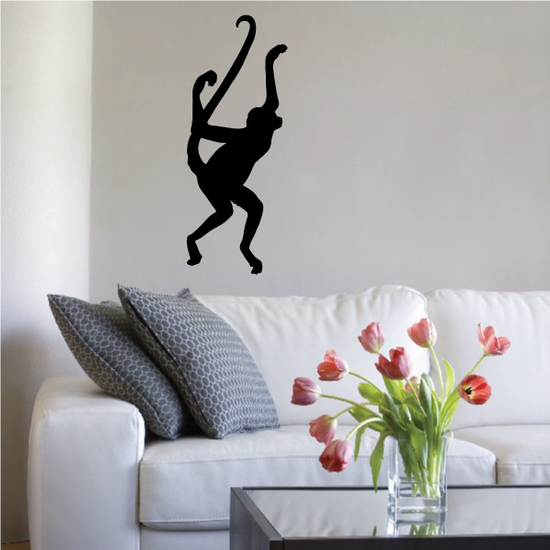 Leaping Monkey Decal