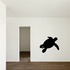 Sea Turtle Surfing Decal