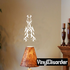 Tribal Accent Dancer Decal