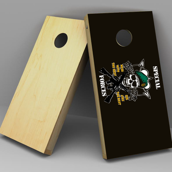 Military Cornhole boards