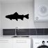 Swimming Lake Trout Decal
