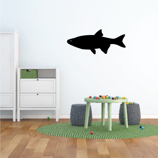 Swimming Brook Trout Decal