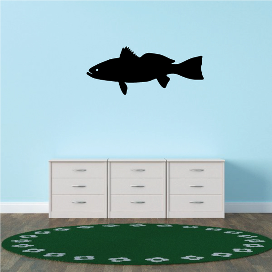 Young Walleye Fish Decal