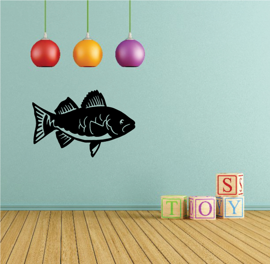 Young Walleye Decal