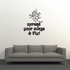 Spread your wings and fly Wall Decal