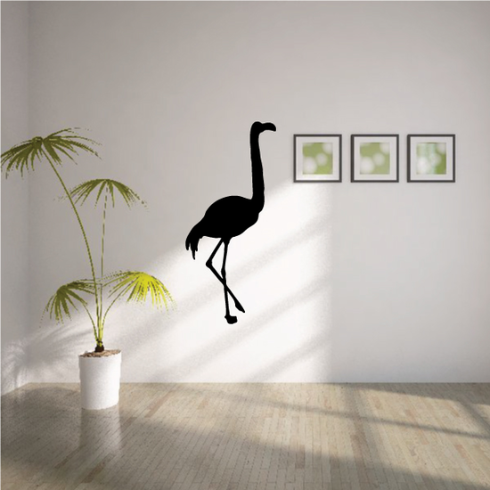 Walking Flamingo Decal