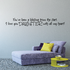 You have been a blessing from the start I love you Daughter with all my heart Wall Decal