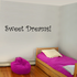 Sweet dreams Stars Wall Decals