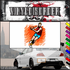 Basketball Wall Decal - Vinyl Sticker - Car Sticker - Die Cut Sticker - SMcolor017