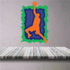 Basketball Wall Decal - Vinyl Sticker - Car Sticker - Die Cut Sticker - CDScolor027