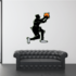 Basketball Wall Decal - Vinyl Sticker - Car Sticker - Die Cut Sticker - CDScolor055