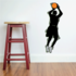 Basketball Wall Decal - Vinyl Sticker - Car Sticker - Die Cut Sticker - CDScolor061
