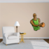 Basketball Wall Decal - Vinyl Sticker - Car Sticker - Die Cut Sticker - CDScolor083