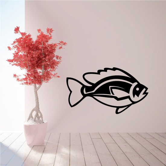 Rounded Sunfish Decal