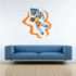 Basketball Wall Decal - Vinyl Sticker - Car Sticker - Die Cut Sticker - CDScolor150