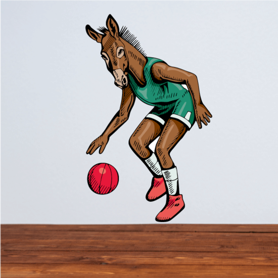 Basketball Wall Decal - Vinyl Sticker - Car Sticker - Die Cut Sticker - CDScolor157