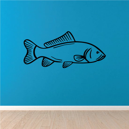 Simple Carp Decal