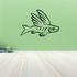 Nemoy the Flying Fish Decal