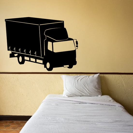 Transport Box Truck Decal