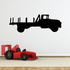 Empty Flat Bed Truck Decal