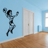 Rugby Tossing Pose Decal
