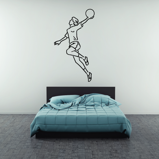 Rugby Hand Throw Decal