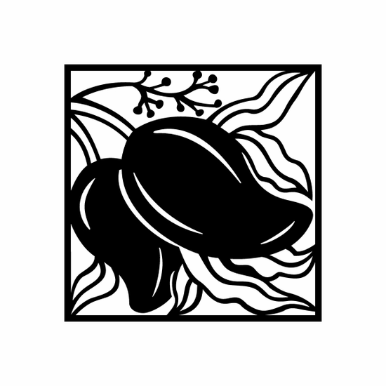 Peppers on Vine Decal